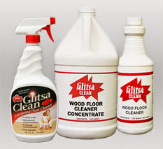 Glitsa Clean Wood Floor Cleaner