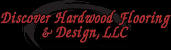 Discover Hardwood Flooring Design Logo